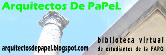 ARQUITECTOS DE PAPEL- CGU ARQ