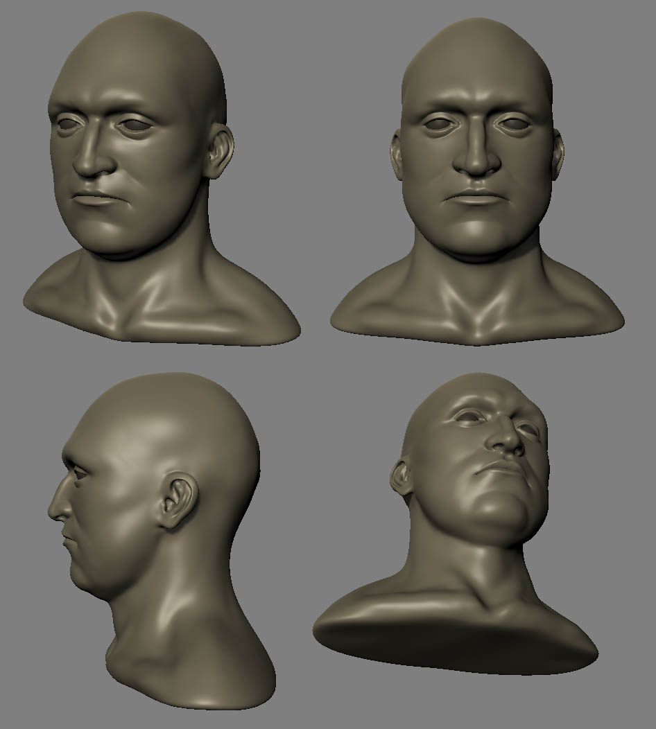 Bald marine