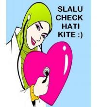 Kalau nak hati yang bersih,kenalah....