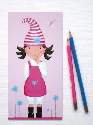 Glückswichtel, Glücksbringer, Kinderzimmerbilder