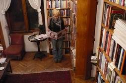 Massolit bookstore interor