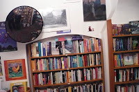 anagram bookshop prague interior