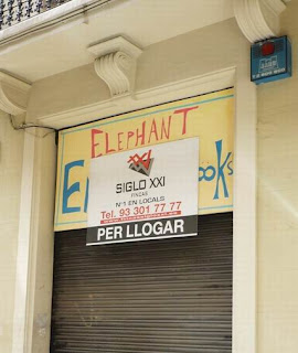 elephant Books closed