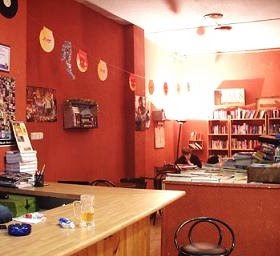 bacchus bar and bookshop