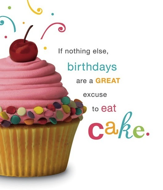 the cupcake activist cupcake flavorstrips in birthday card, Birthday card