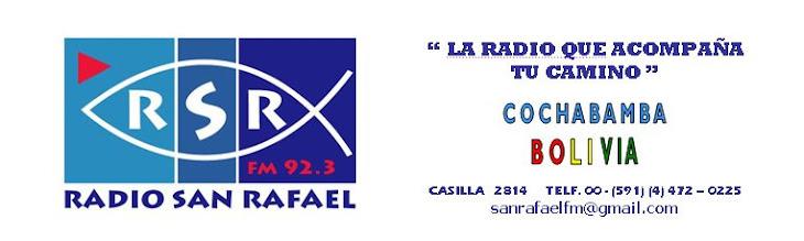 RADIO SAN RAFAEL FM - COCHABAMBA - BOLIVIA
