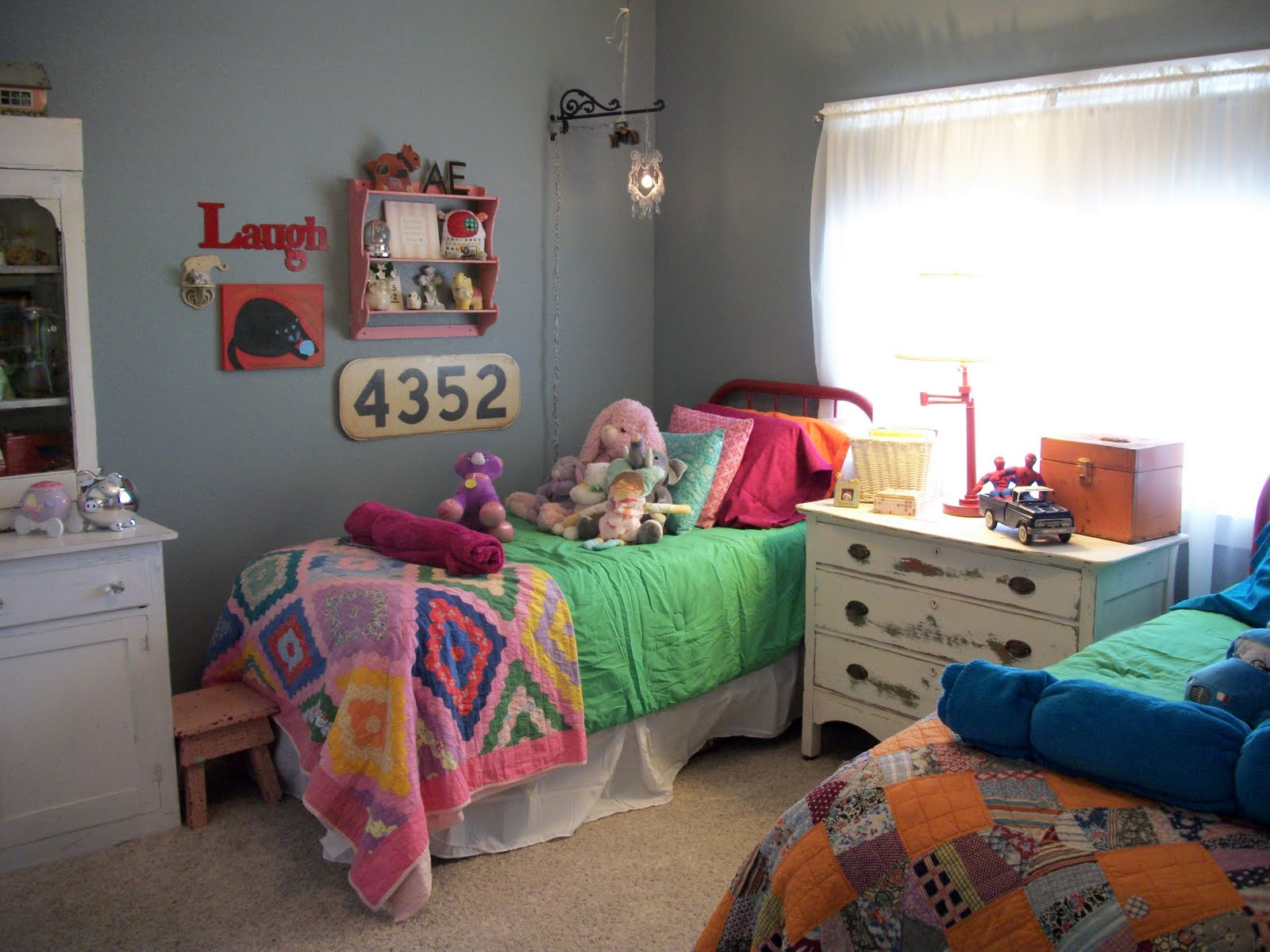 The house that jade built the best of friends share rooms for Girl boy shared bedroom ideas