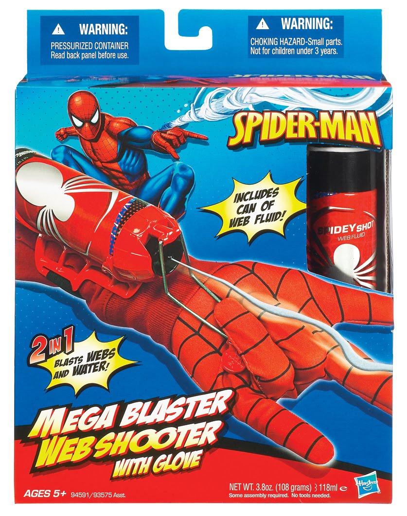 Как сделать бластер человека паука своими руками