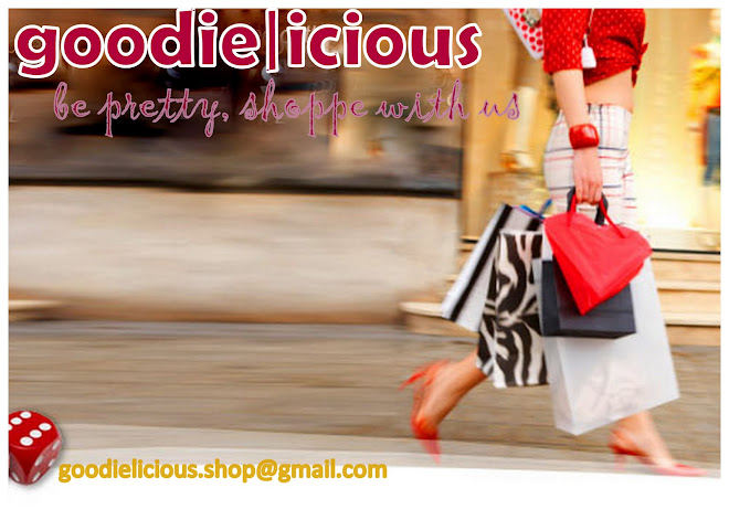 ♥ goodie|icious. be pretty,shoppe with us♥