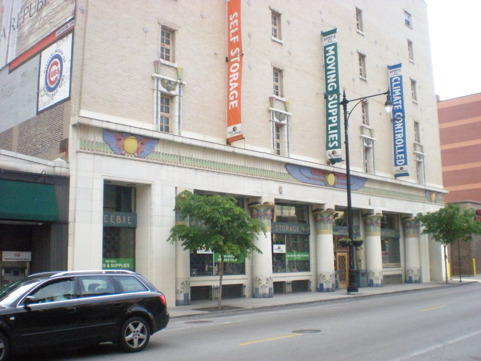 Chicago Landmarks Tour Trip Reebie Storage Warehouse