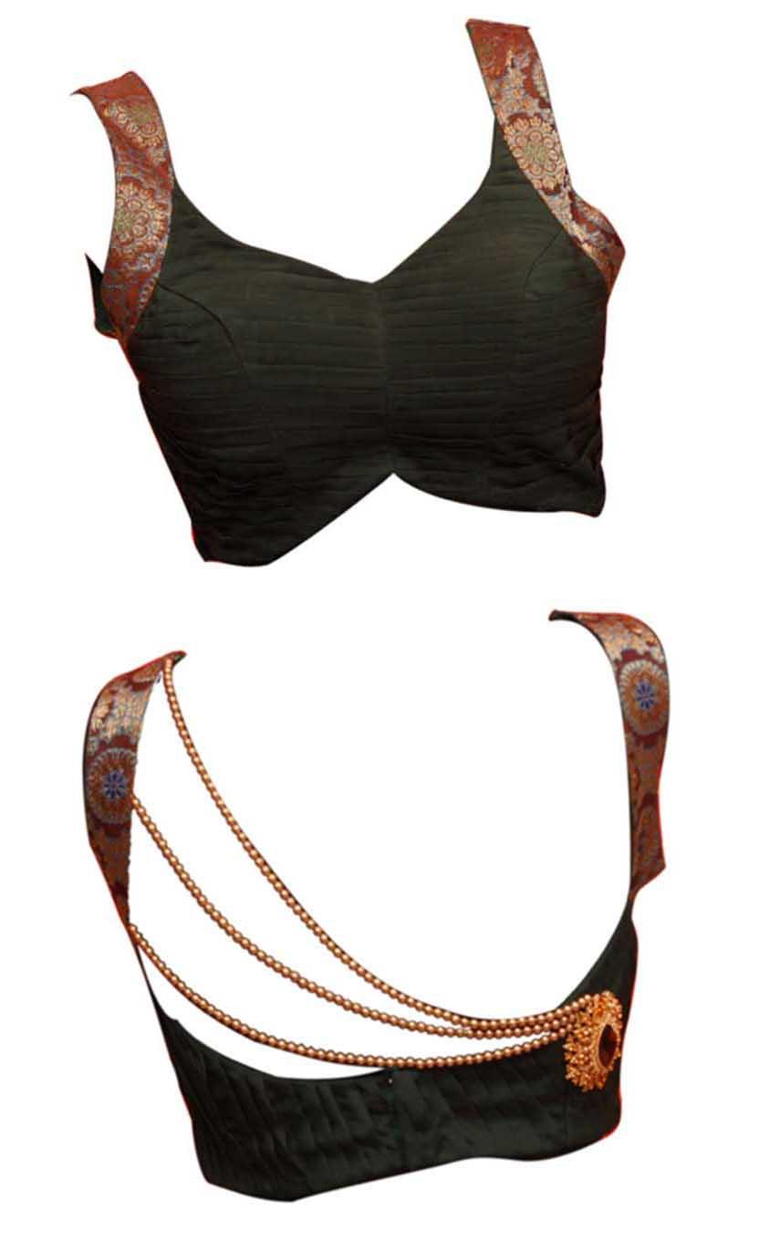 Saree Designs Blouses Back