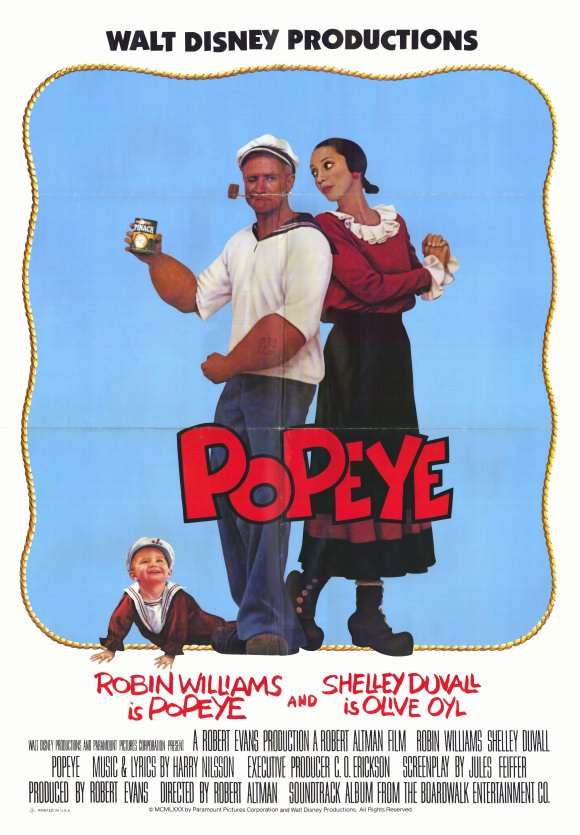 Popsiculture 80s Movies Popeye 1980