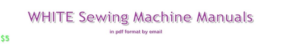 PDF Sewing Machine Manuals