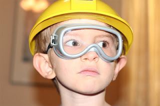 Before we use any power tools, let's take a moment to talk about shop safety. Be sure to read, understand, and follow all the safety rules that come with your power tools. Knowing how to use your power tools properly will greatly reduce the risk of personal injury. And remember this: there is no more important safety rule than to wear these — safety glasses. - Norm Abrams, The New Yankee Workshop.