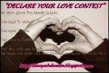 DECLARE YOUR LOVE CONTEST