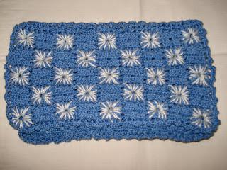 Saco de Guardanapo em Crochet (fechado)