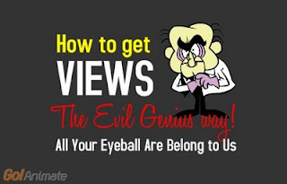 Image of: Wallpaper Fandom How To Get Views On Goanimate The Evil Geinus Way