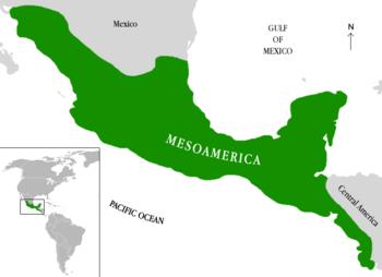 Territorio y Fechas de las Culturas Mesoamericanas