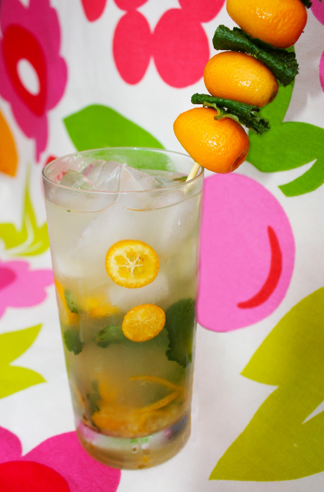 ... Bombed: Christmas Cocktail #7- Kumquat & Meyer Lemon Mojito