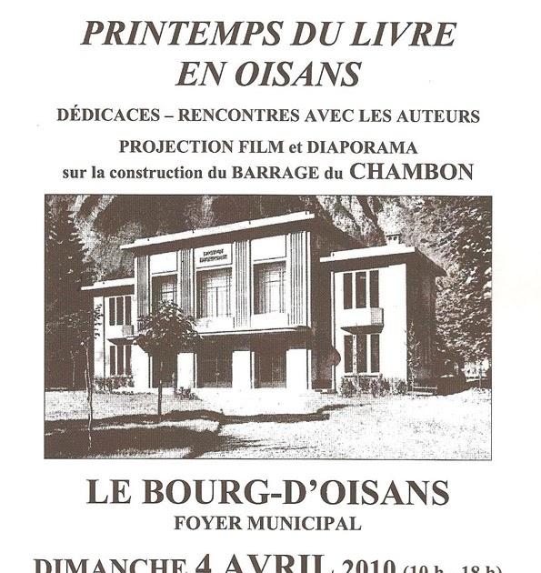 News de l 39 office de tourisme bourg d 39 oisans le printemps du livre en oisans - Auris en oisans office du tourisme ...