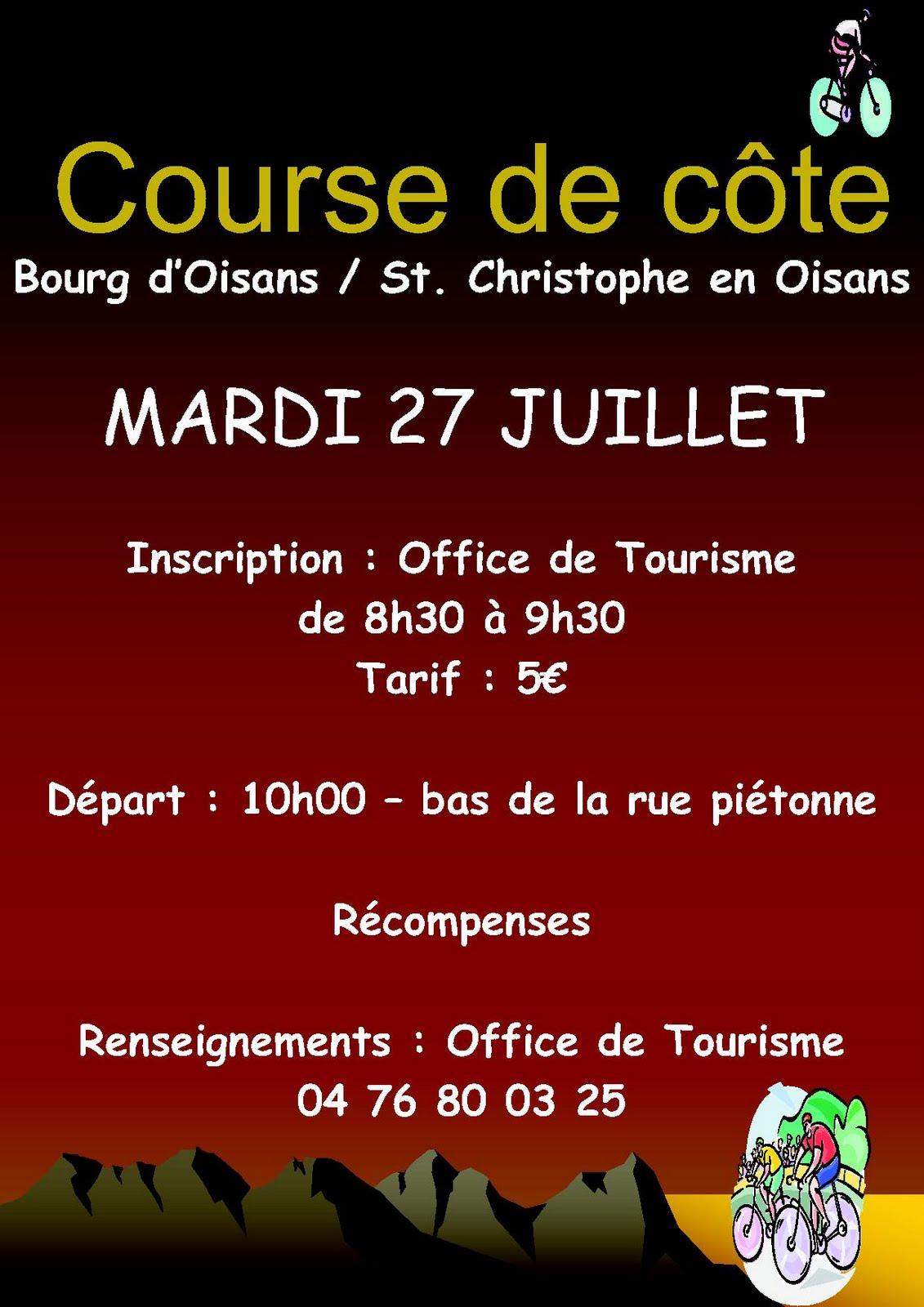 News de l 39 office de tourisme bourg d 39 oisans pour les - Office de tourisme les carroz d arrache ...
