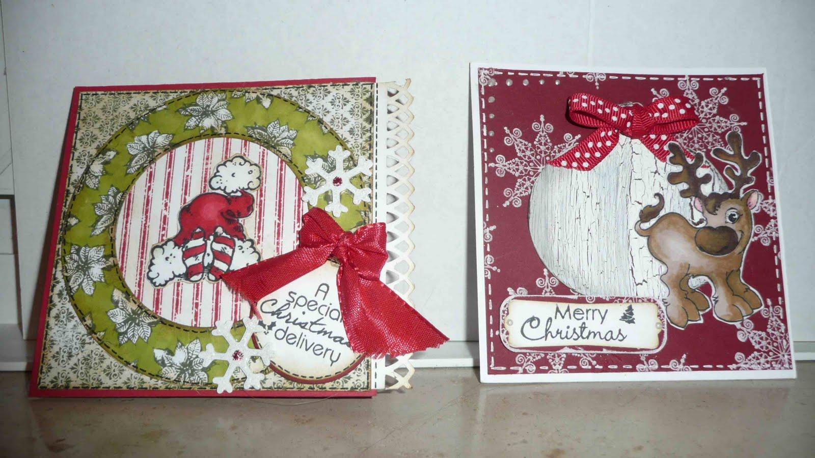 Nadjas stempelkreationen niedliche weihnachtskarten - Niedliche weihnachtskarten ...