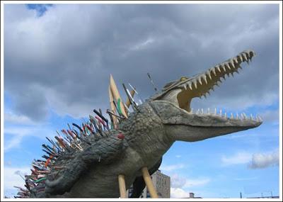 Crocodile Artifact
