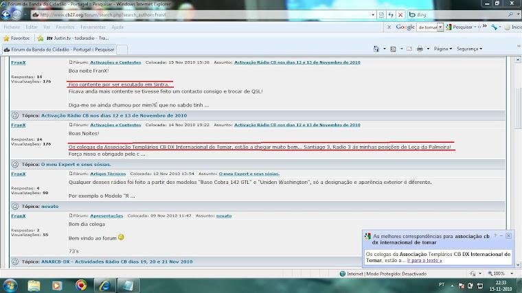 Lista de um Forum na NET
