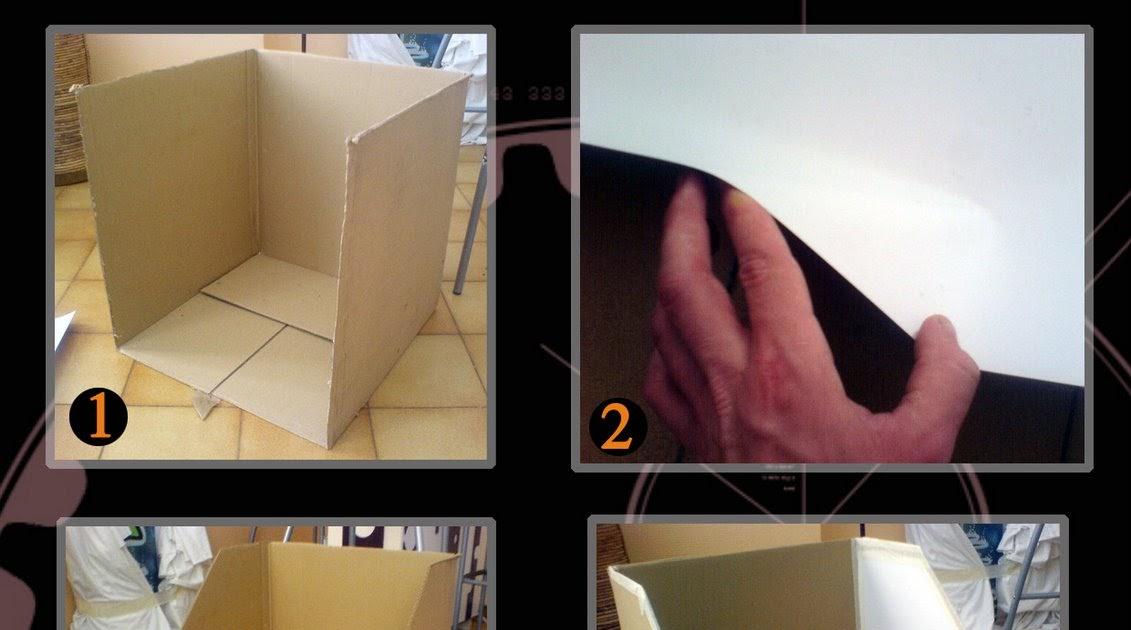 Le blog d kouzes tuto construire un studio photo for Construire un studio de musique
