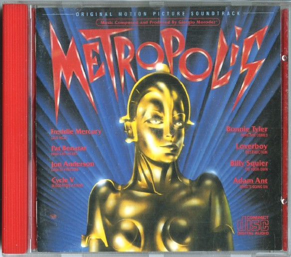 Metropolis [Original Soundtrack] Freddie Mercury, Pat Benatar, Bonnie Tyler etc