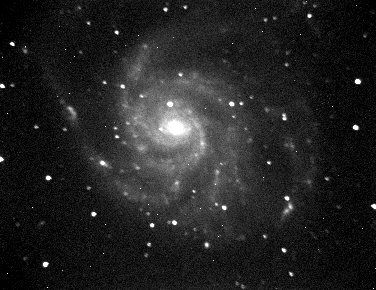 Galaxia espiral M101 en Ursa Major