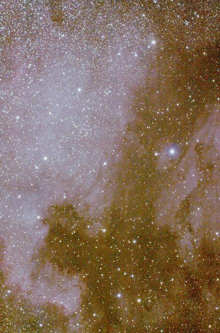 Nebulosa de Norte América - Constelación el Cisne