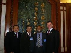 DELEGAÇÃO BRASILEIRA NA CHINA MOSTRA SUA CARA.