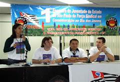 SECRETARIA NACIONAL DA CRIANÇA E ADOLESCENTE NA ABERTURA DO ENCONTRO.
