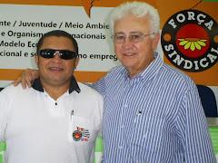 José Antonio e o Presidente do Senalba de Porto Alegre