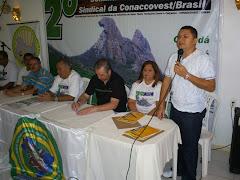 JOSÉ ANTONIO DA COORDENAÇÃO NACIONAL DA CONACCOVEST.