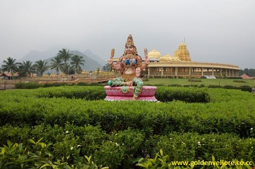 golden temple vellore images. rare photos of golden temple