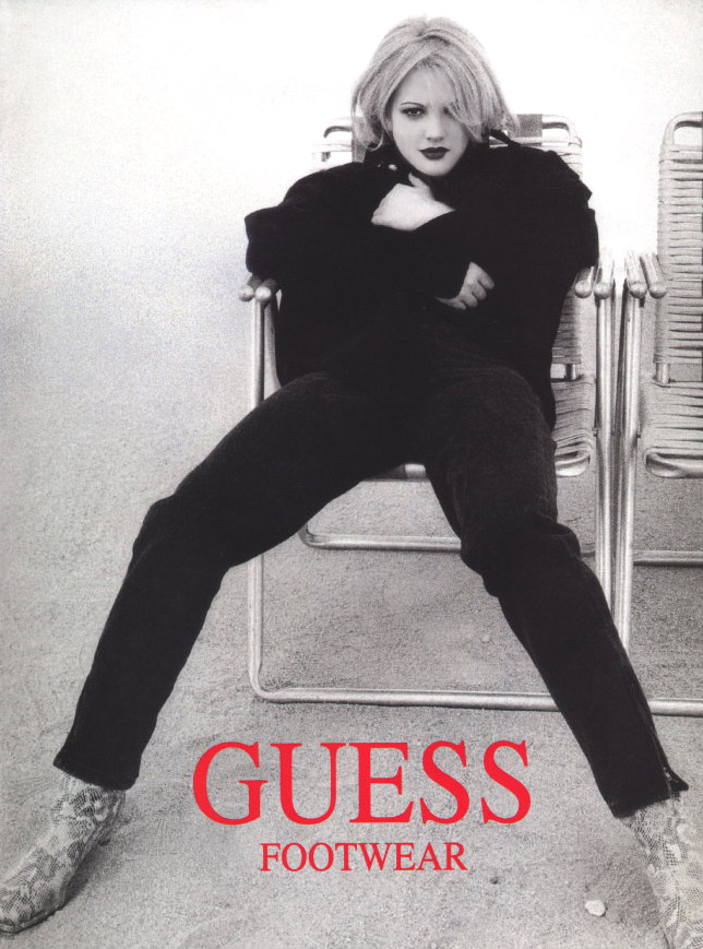 drew barrymore guess