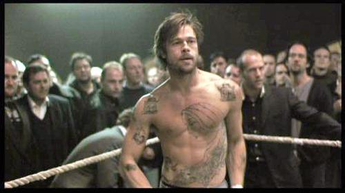 snatch tattoo. Mickey (Brad Pitt), Snatch