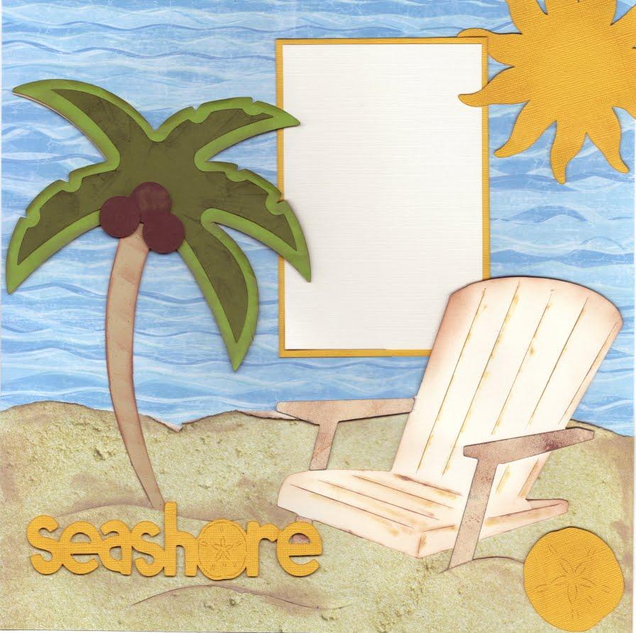 Scrapbook paper beach - Scrapbook Paper Beach 13