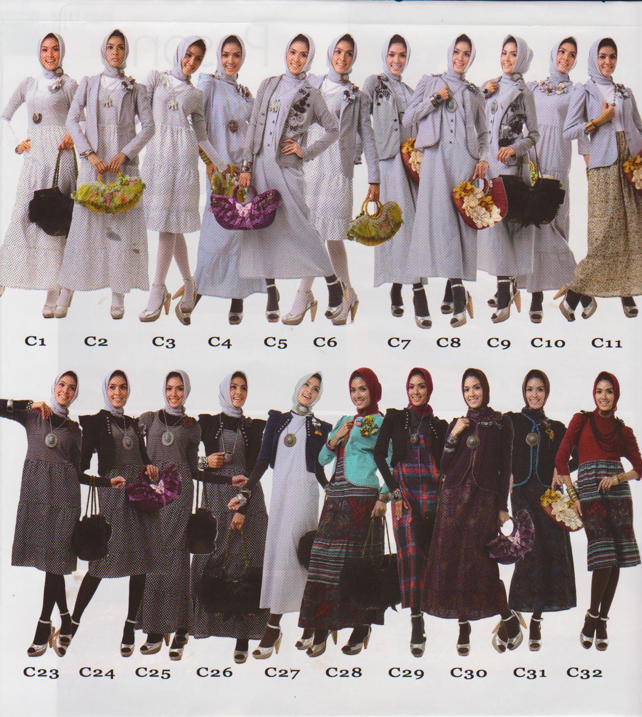Grosir Busana Muslim Baju Pakaian Muslimah Anak Remaja Dewasa 2015 ...