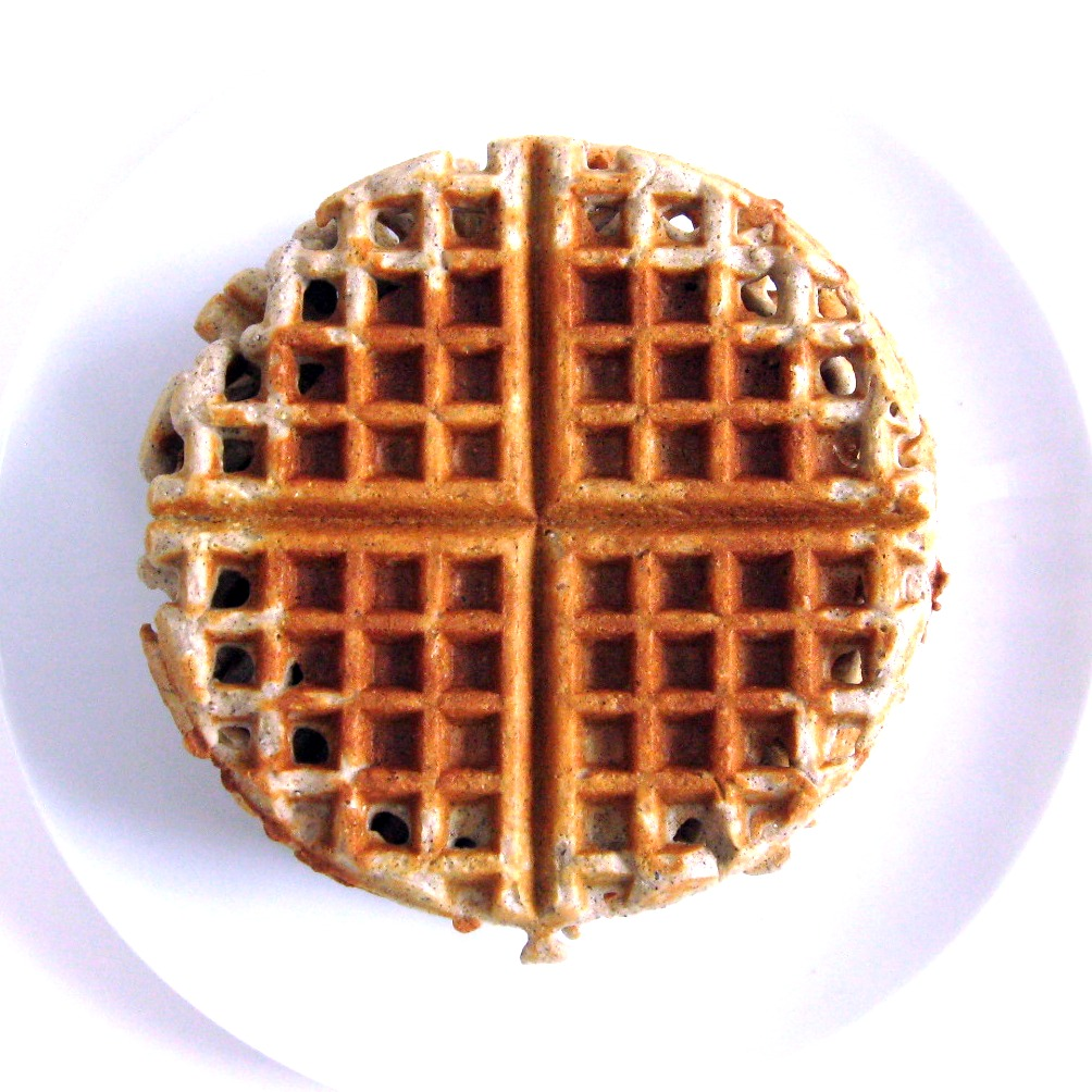 Mama Me Gluten Free: Blue Corn Quinoa Waffles