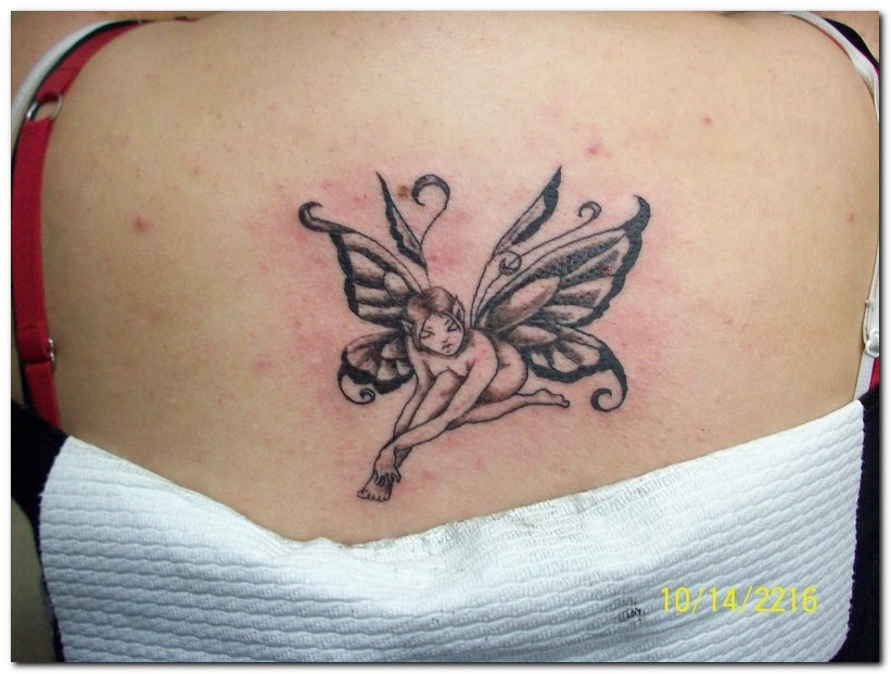 fairy tattoo designs. 2010 tribal fairy tattoo.