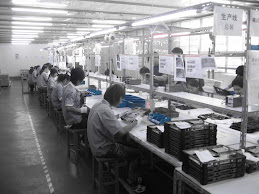 Workers manufacturing Dell Computers- Shanghai