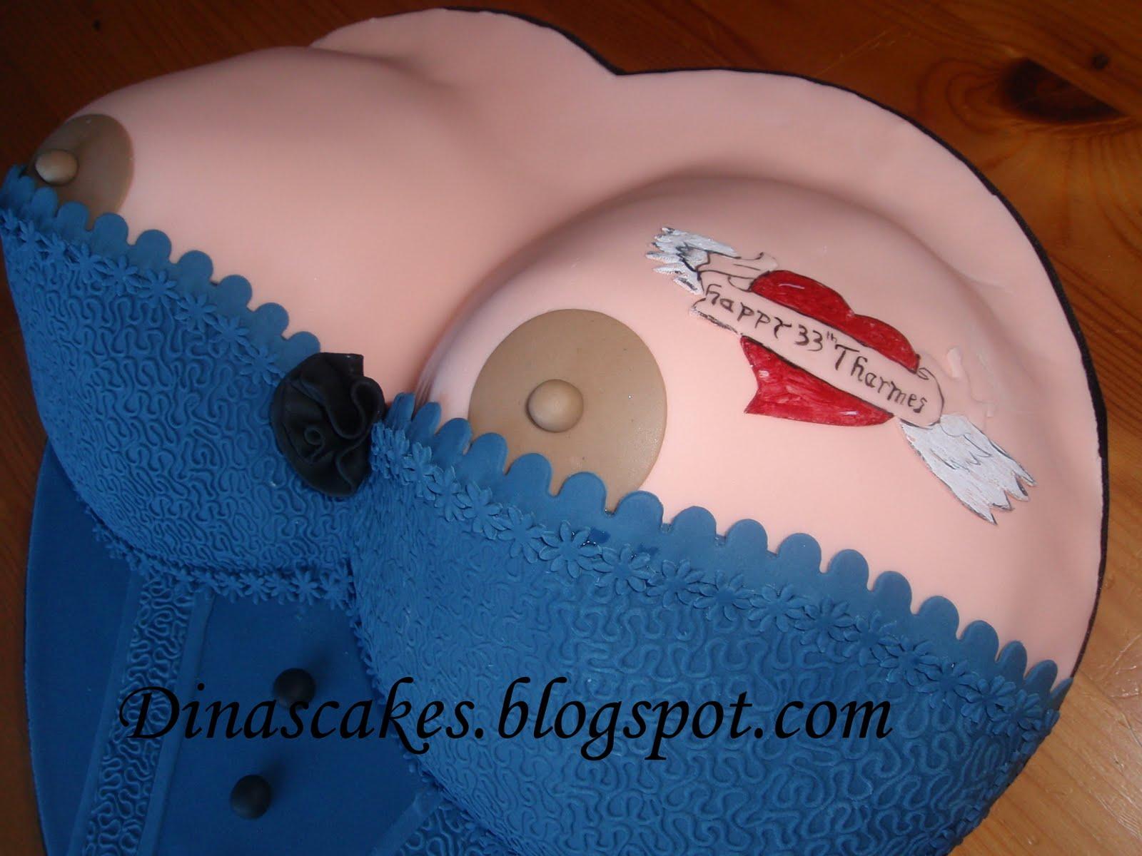 Dina S Cakes Boobs Cakes