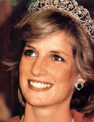 princess diana wedding tiara. princess diana wedding tiara