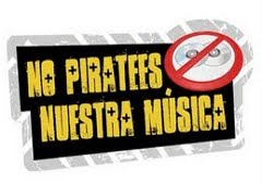 No piratees nuestra música.