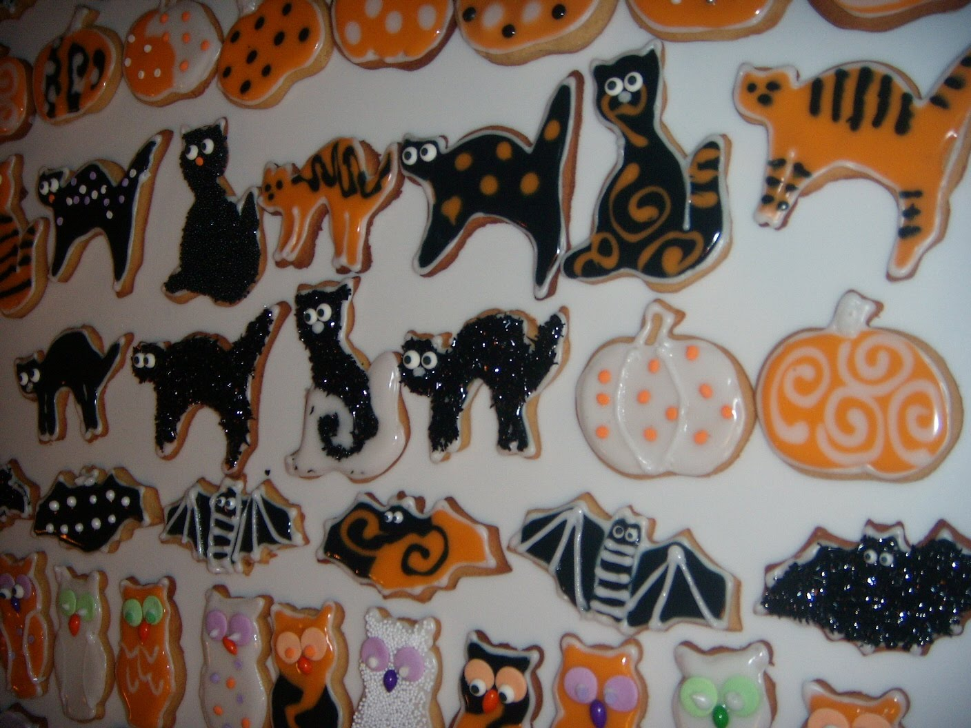 cookie decorating ideas - Halloween Cookies Decorating Ideas