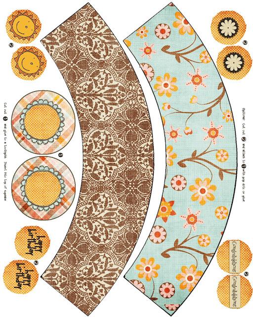 Imprimibles de wrappers para cupcakes 4. - Ideas gratis para ...