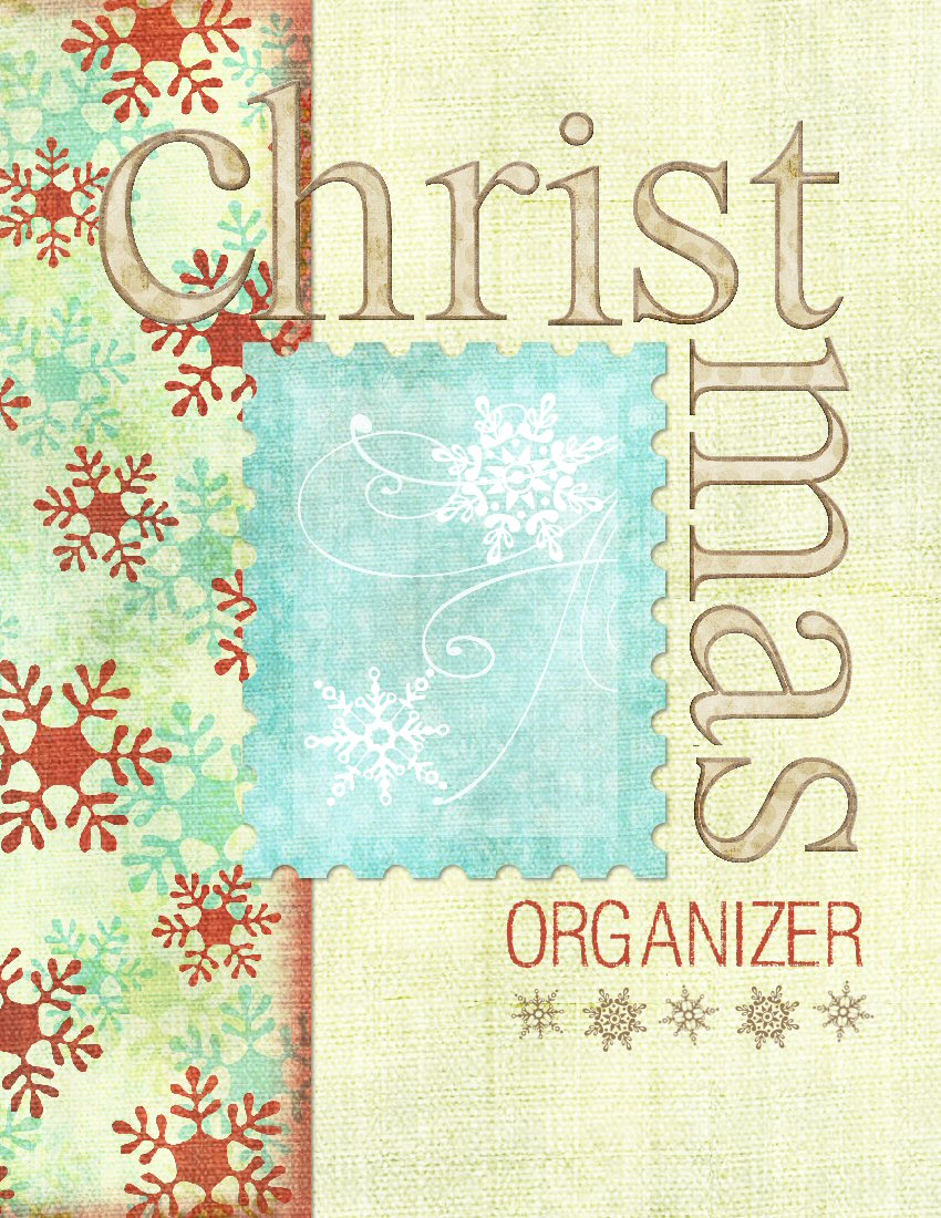 Paper Crafting Obsession: Christmas Planner - Free Printable